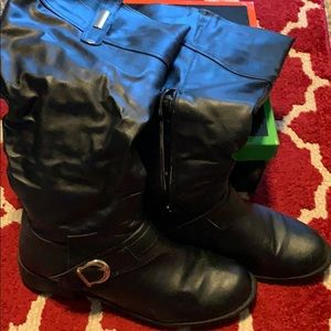 Buccko Black Boots